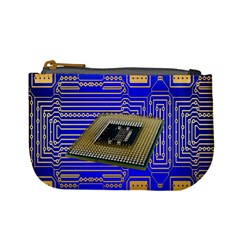 Processor Cpu Board Circuits Mini Coin Purses