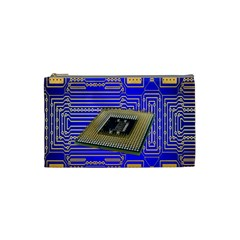 Processor Cpu Board Circuits Cosmetic Bag (Small)