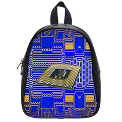 Processor Cpu Board Circuits School Bags (Small)