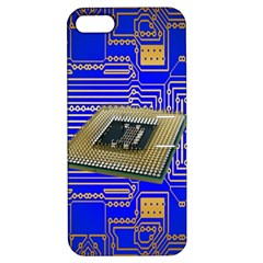 Processor Cpu Board Circuits Apple iPhone 5 Hardshell Case with Stand