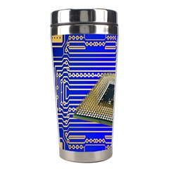 Processor Cpu Board Circuits Stainless Steel Travel Tumblers