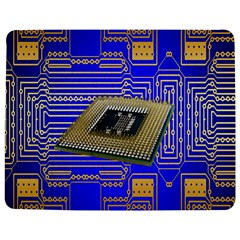 Processor Cpu Board Circuits Jigsaw Puzzle Photo Stand (Rectangular)