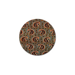 Persian Silk Brocade Golf Ball Marker (10 pack)