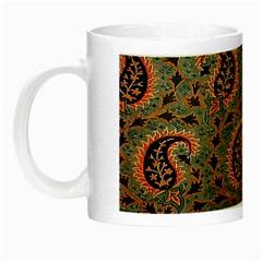 Persian Silk Brocade Night Luminous Mugs