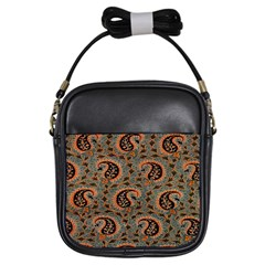 Persian Silk Brocade Girls Sling Bags