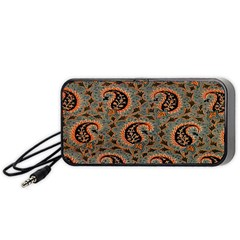 Persian Silk Brocade Portable Speaker (Black)