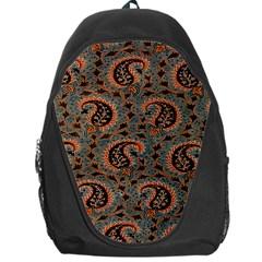 Persian Silk Brocade Backpack Bag