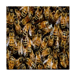Honey Bee Water Buckfast Tile Coasters