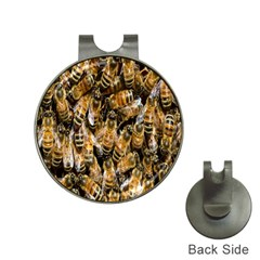 Honey Bee Water Buckfast Hat Clips with Golf Markers