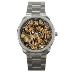 Honey Bee Water Buckfast Sport Metal Watch