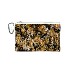 Honey Bee Water Buckfast Canvas Cosmetic Bag (S)