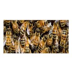 Honey Bee Water Buckfast Satin Shawl