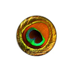 Peacock Feather Eye Hat Clip Ball Marker (4 pack)