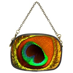 Peacock Feather Eye Chain Purses (Two Sides)