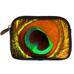 Peacock Feather Eye Digital Camera Cases