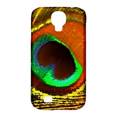 Peacock Feather Eye Samsung Galaxy S4 Classic Hardshell Case (PC+Silicone)