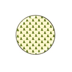Leaf Pattern Green Wallpaper Tea Hat Clip Ball Marker