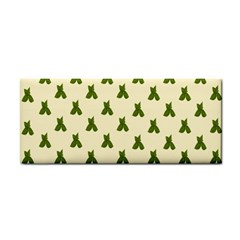 Leaf Pattern Green Wallpaper Tea Cosmetic Storage Cases