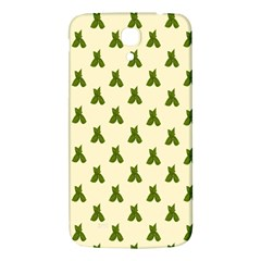 Leaf Pattern Green Wallpaper Tea Samsung Galaxy Mega I9200 Hardshell Back Case