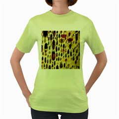 Insect Collection Women s Green T-Shirt