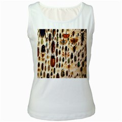 Insect Collection Women s White Tank Top