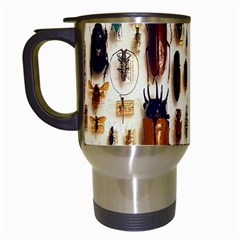 Insect Collection Travel Mugs (White)