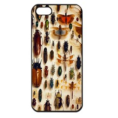 Insect Collection Apple iPhone 5 Seamless Case (Black)