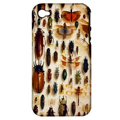 Insect Collection Apple iPhone 4/4S Hardshell Case (PC+Silicone)