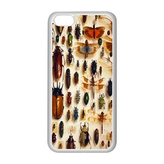 Insect Collection Apple iPhone 5C Seamless Case (White)