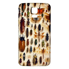 Insect Collection Samsung Galaxy S5 Back Case (White)
