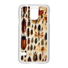 Insect Collection Samsung Galaxy S5 Case (white)