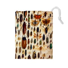 Insect Collection Drawstring Pouches (Large)