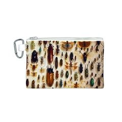 Insect Collection Canvas Cosmetic Bag (S)