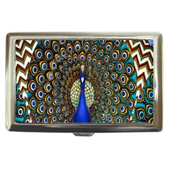 The Peacock Pattern Cigarette Money Cases