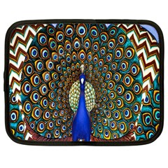 The Peacock Pattern Netbook Case (large)