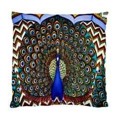 The Peacock Pattern Standard Cushion Case (One Side)