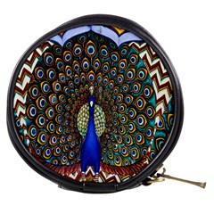 The Peacock Pattern Mini Makeup Bags