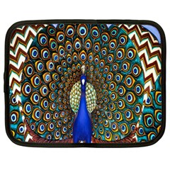 The Peacock Pattern Netbook Case (XL)