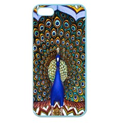 The Peacock Pattern Apple Seamless iPhone 5 Case (Color)