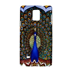 The Peacock Pattern Samsung Galaxy Note 4 Hardshell Case