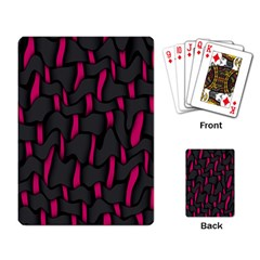 Weave And Knit Pattern Seamless Background Playing Card