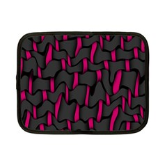 Weave And Knit Pattern Seamless Background Netbook Case (Small)