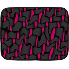 Weave And Knit Pattern Seamless Background Double Sided Fleece Blanket (Mini)