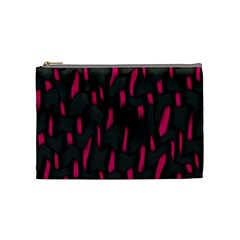 Weave And Knit Pattern Seamless Background Cosmetic Bag (Medium)