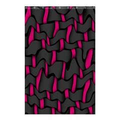 Weave And Knit Pattern Seamless Background Shower Curtain 48  x 72  (Small)