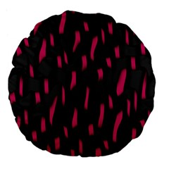 Weave And Knit Pattern Seamless Background Large 18  Premium Flano Round Cushions
