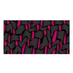 Weave And Knit Pattern Seamless Background Satin Shawl