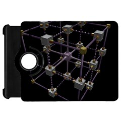 Grid Construction Structure Metal Kindle Fire HD 7