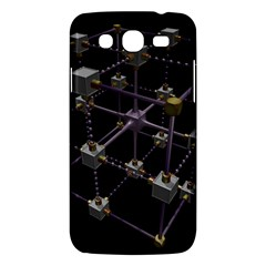 Grid Construction Structure Metal Samsung Galaxy Mega 5 8 I9152 Hardshell Case