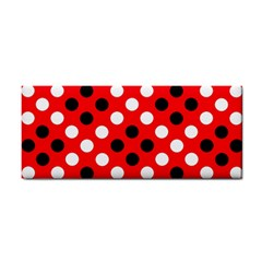 Red & Black Polka Dot Pattern Cosmetic Storage Cases